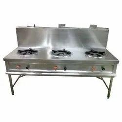 3 Three Burner Cooking Range, for Kitchen, Model Name/Number: Mvsw 03 Br
