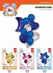 Assorted 10 Pcs Pack Party Balloon