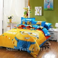 Saathi Textiles Multi Kids Bed Sheet