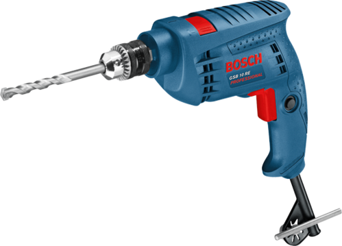 Bosch - impact drill gsb 10 re kit professional, Warranty: 1 year