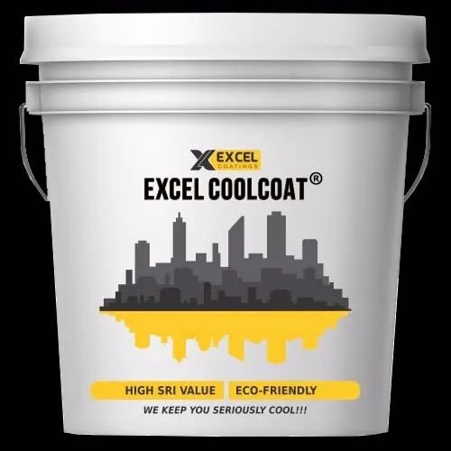 EXCEL CoolCoat -Heat Reflective Cool Roof Coating - Excel Cool Coat