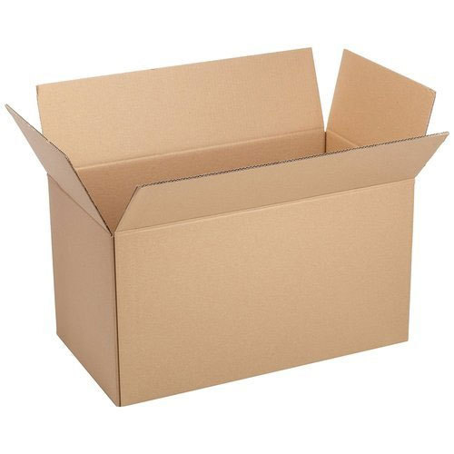 Brown Plain Corrugated Box
