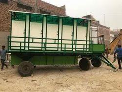 FRP Modular Mobile Toilet Van