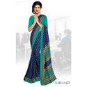 Receptionists Crepe Uniform Sarees
