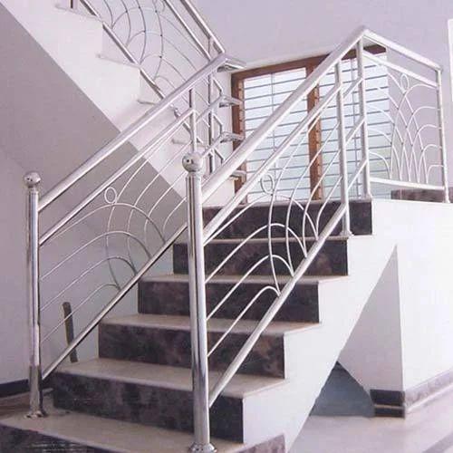 Staircase SS Railing at Rs 750 /kilogram | Okhla Phase 1 ...
