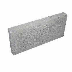 Rectangular Grey Concrete Cinder Blocks