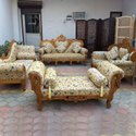 Aarsun Woods Wooden Traditional Style Sofa Set, For Home