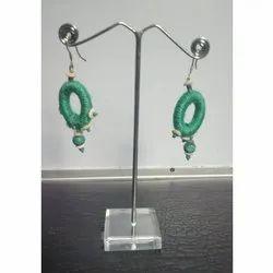 Ladies Fancy Jute Earrings