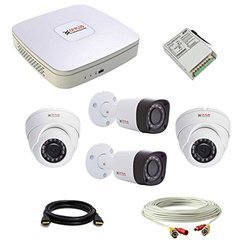 CP Plus 2 MP HD Analog CCTV Camera & DVR System