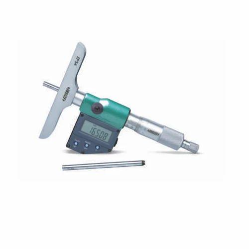 "0-6/""//0-150mm Insize Electronic Digital Double Hook Depth Gauge 1144-150A"