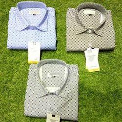 Mens Casual Check Shirt, Size: M