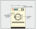 Industrial Washer and Extractor