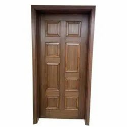 Single Door Interior Wooden Membrane Door