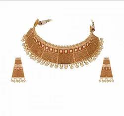 Golden Ladies Necklace YP-9048