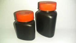 Black Triangle Capsule Bottle