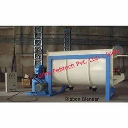 Ultra Febtech Ms 7HP Ribbon Blender, Capacity: Up To 1000 Liter