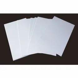 Ultra White and White Inkjet PVC Sheets