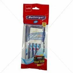 Cello Butter Gel Pen Set of 5