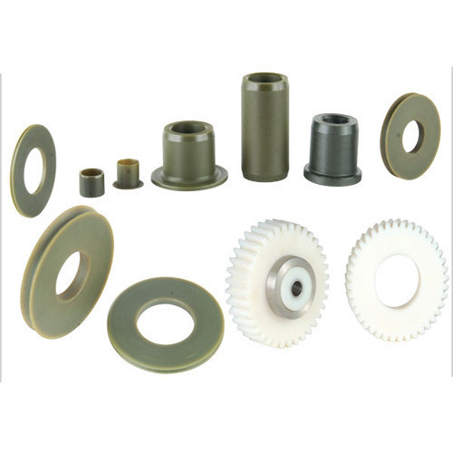 White Industrial Plastic Components