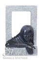 Black Marble Figure Statue