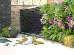 Roof Top Garden Wall Laser Cut Screens and Panels