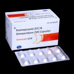 Esomeprazole 40mg & Domperidone 30mg Sustained Release Capsules