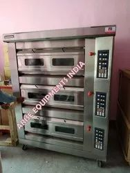 Toastmaster Three Deck Oven Gas Oven with Digital Panel