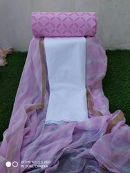 Aaditri Applique Work Dress Material