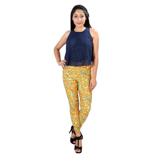 c2ac06bc93f98 Cotton Lycra Printed Womens Leggings, Size: Free Size, Rs 199 /piece ...