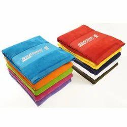 VAIBHAV EXPORTS Cotton Multicolour Promotional Towels, Size: 70 X 140