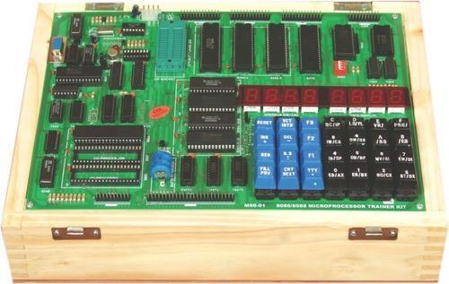 8086/88 Microprocessor Trainer Kit With Led Display