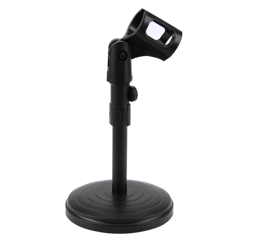 foldable desk table microphone stand computer mic tripod stand angle