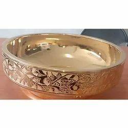 Counter Top Brass Wash Basin