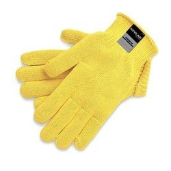 Yellow Kevlar Safety Gloves