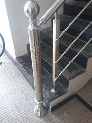 Stainless Steel Stairs SS Staircase Railing