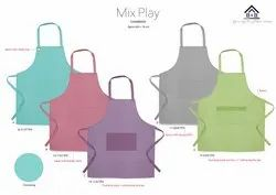 Cotton Chef Apron, Packaging Type: Polybag and Carton Box
