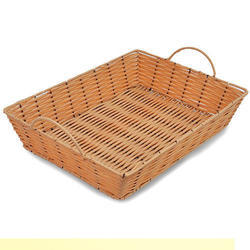 Wicker Rectangular Tray