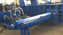 Automatic Scrap Baling Press Machines