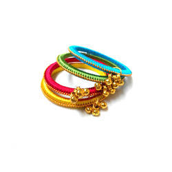 Girls Silk Thread Bangle