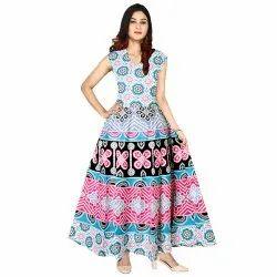 Cotton Casual Wear Halter Dress