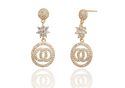 Pendant Adora Cubic Zirconia Brass Drop Earring