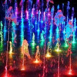 RGB DMX Musical Fountains