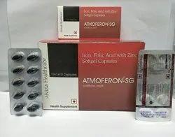 Iron, Folic Acid with Zinc Softgel Capsules