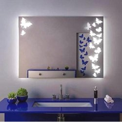 Led Mirror Butterfly Design