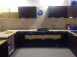Designer U Shape Modular Kitchen
