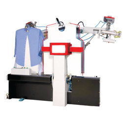Shirt Ironing System, Capacity: 10-20 Shirts/min, 10 Kw