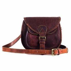 Girls Leather Sling Bag