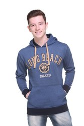 Hooded Full Sleeve Men Sweatshirt for Winter