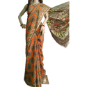 Ladies Casual Kalamkari Cotton Saree