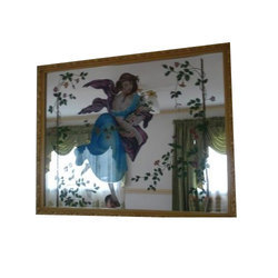3D Stained Glass Mirror